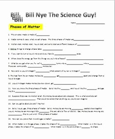 Bill Nye Magnetism Worksheet Answers Luxury Bundled 5 1 What is Energy Work Power and Energy