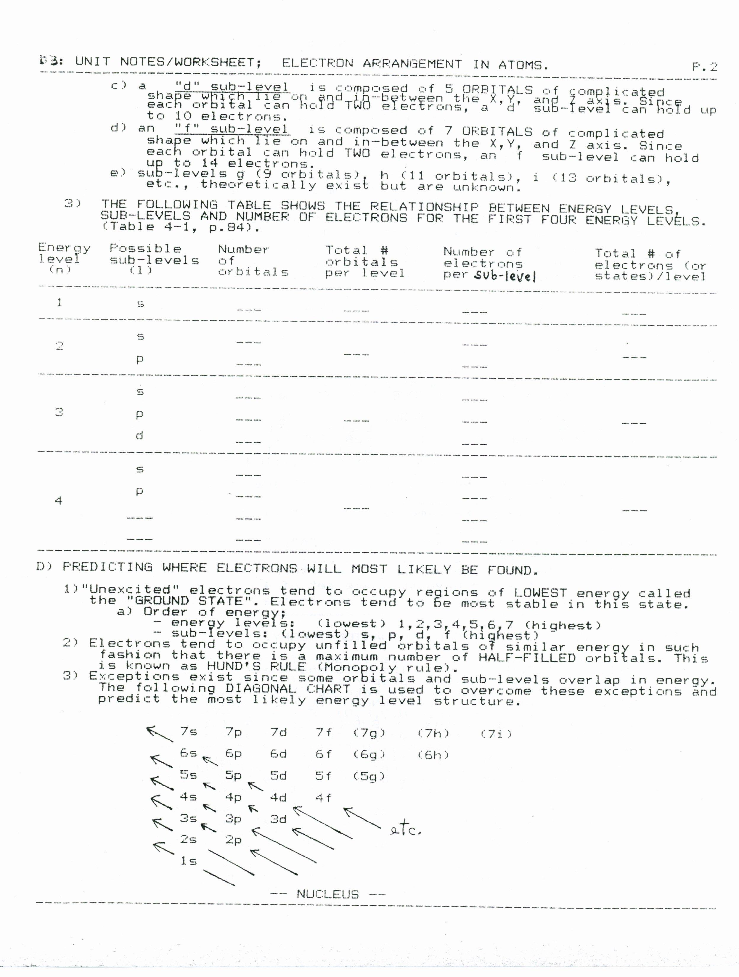 Bill Nye Motion Worksheet Answers Awesome Worksheet Introduction to Bonding Answer Sheet