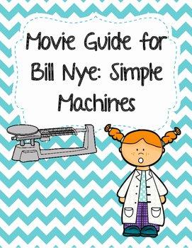 Bill Nye Simple Machines Worksheet New Video Worksheet Movie Guide for Bill Nye Simple