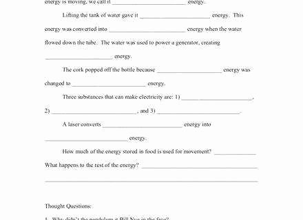 Bill Nye Static Electricity Worksheet Luxury Bill Nye Electricity Worksheet