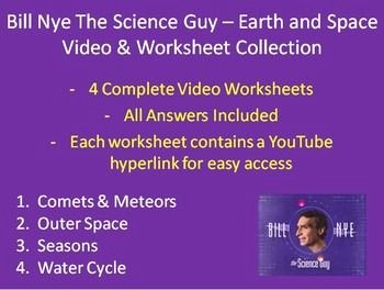 Bill Nye Water Cycle Worksheet Awesome Pinterest • the World's Catalog Of Ideas