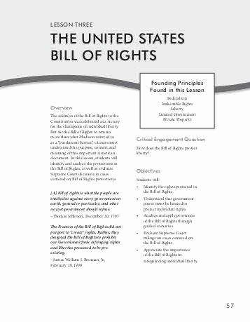Bill Of Rights Scenario Worksheet Luxury Bill Rights Worksheet