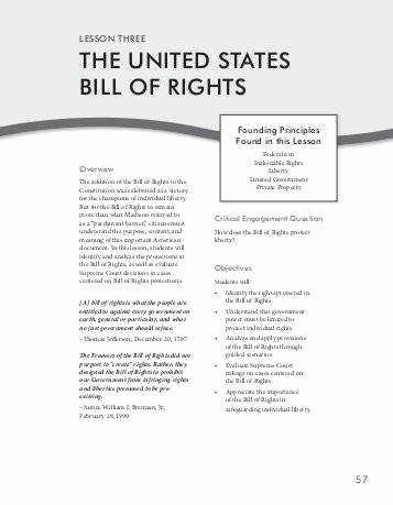 Bill Of Rights Scenario Worksheet Luxury Bill Rights Worksheet