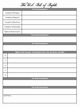 Bill Of Rights Scenarios Worksheet Elegant Bill Rights Scenarios