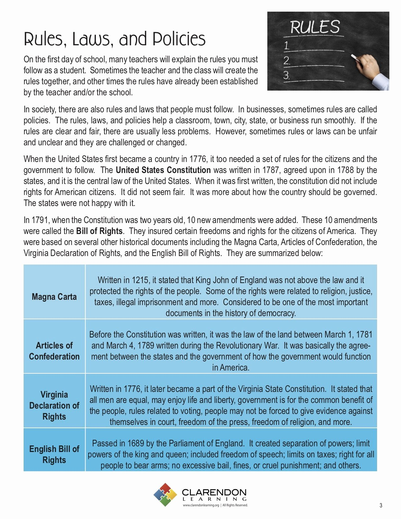 Bill Of Rights Worksheet Beautiful Bill Of Rights Lesson Plan