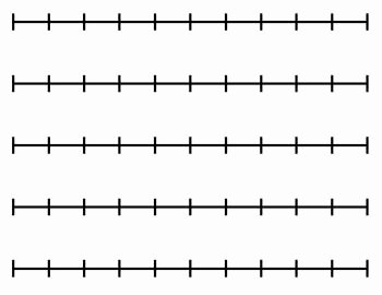 Blank Number Line Worksheet New Blank Number Line for Any Activity