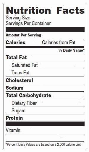 Blank Nutrition Label Worksheet Elegant Nutrition and Games