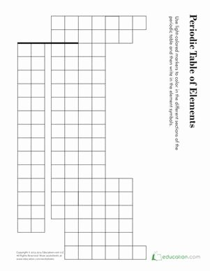 Blank Periodic Table Worksheet Elegant 17 Best Images About Periodic Table On Pinterest