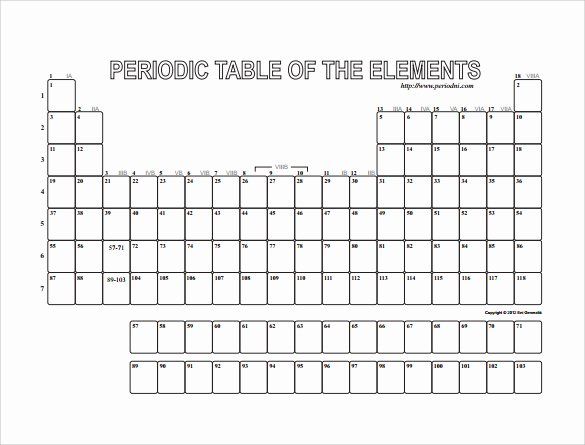 Blank Periodic Table Worksheet Fresh Blank Periodic Table Printable Worksheet Printable 360