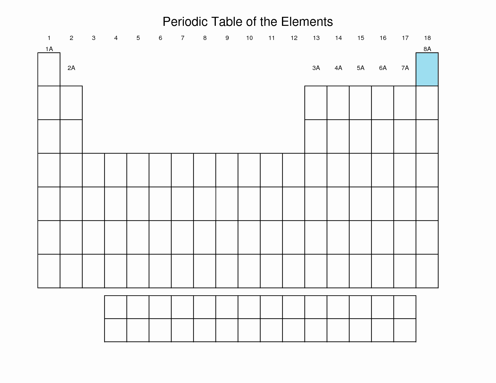 Blank Periodic Table Worksheet Luxury Anyone Wanna Know How to Make A Periodic Table Using A