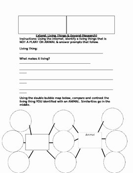 Blank Vocabulary Worksheet Template Lovely Cell Vocabulary Fill In the Blank & Extension Worksheet