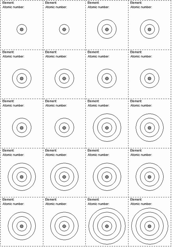 Bohr atomic Models Worksheet Beautiful Bohr atomic Model Worksheet – Free Worksheets Samples