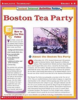 Boston Tea Party Worksheet Best Of Instant Internet Activities Folder Boston Tea Party