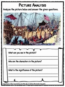 Boston Tea Party Worksheet Elegant Boston Tea Party Facts Information & Worksheets for Kids