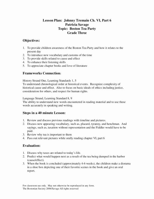 Boston Tea Party Worksheet Luxury Boston Tea Party Worksheet the Best Worksheets Image