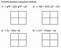 Box Method Multiplication Worksheet Fresh Box Method Worksheets to Multiply Polynomials