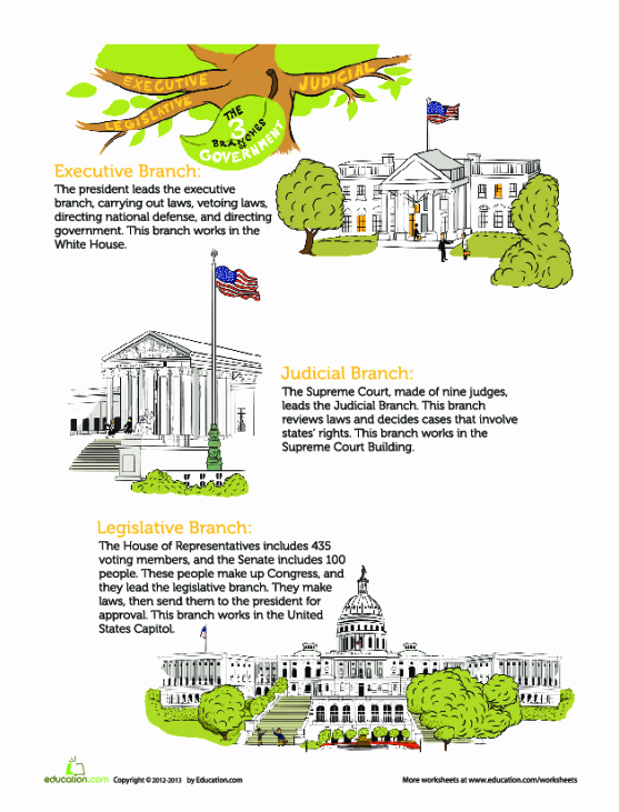 Branches Of Government Worksheet Fresh the Branches Of Government Lesson Plan