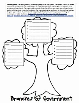 Branches Of Government Worksheet Fresh Three Branches Of Government Lesson and Worksheets