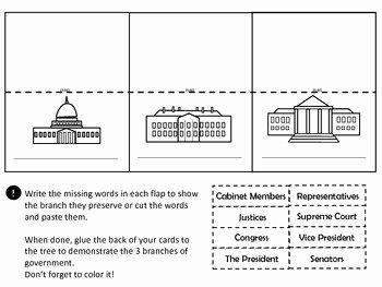 Branches Of Government Worksheet New 3 Branches Government by Dressed In Sheets