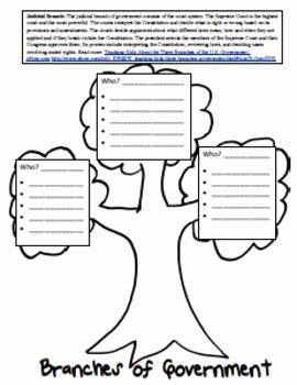 Branches Of Government Worksheet Pdf Awesome Three Branches Of Government Lesson and Worksheets by