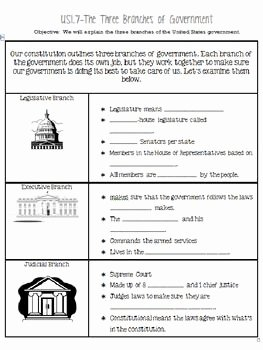 Branches Of Government Worksheet Pdf New 1000 Ideas About Government Lessons On Pinterest
