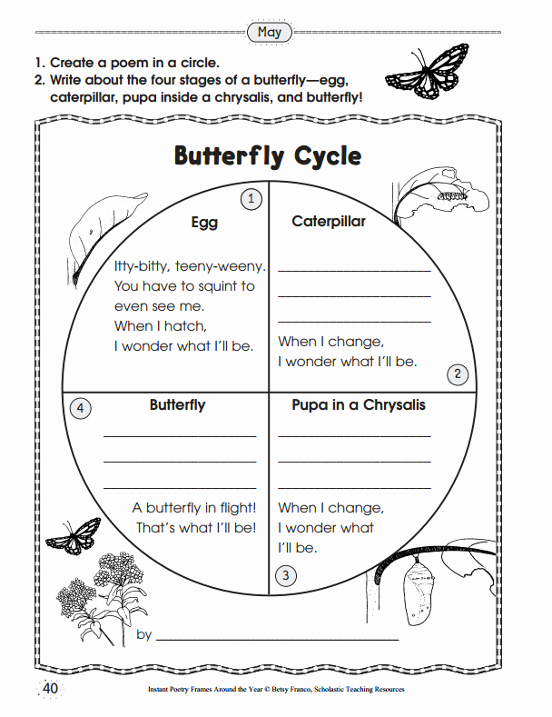 Butterfly Life Cycle Worksheet Inspirational 10 Ready to Go Resources for Teaching Life Cycles