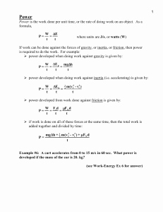 Calculating force Worksheet Answers New Calculating force Worksheet