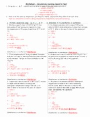 Calculating Specific Heat Worksheet Lovely 1025 Lec 2 00 Specific Heat Worksheet with Answers