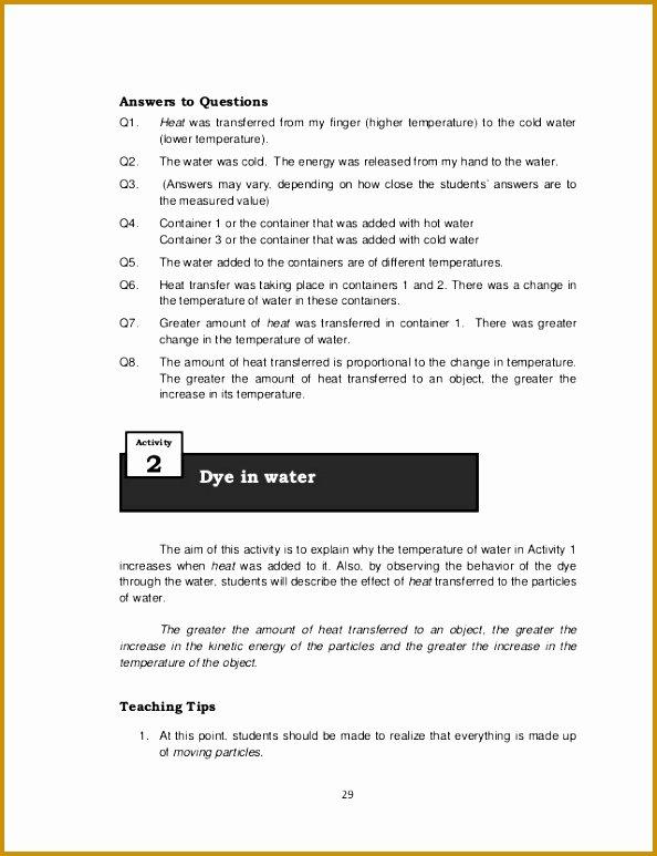Calculating Specific Heat Worksheet Unique 3 Calculating Specific Heat Worksheet Answers