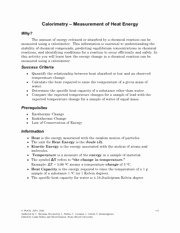 Calorimetry Worksheet Answer Key Inspirational 17 Best Of Dna and Replication Pogil Worksheet