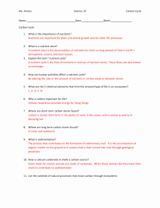 Carbon Cycle Worksheet Answers Fresh Carbon Cycle Homework Answer Key
