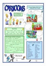 Cartoon Analysis Worksheet Answer Key Beautiful Visual Literacy Cartoon Analysis Esl Worksheet by