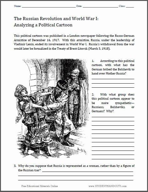 31 Cartoon Analysis Worksheet Answer Key - Worksheet ...