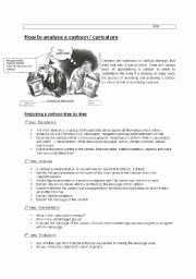 Cartoon Analysis Worksheet Answer Key New Cartoon Picture Analysis Advanced Vocabulary Useful