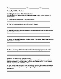 Cartoon Analysis Worksheet Answers Lovely 1000 Images About social Stu S Labs On Pinterest