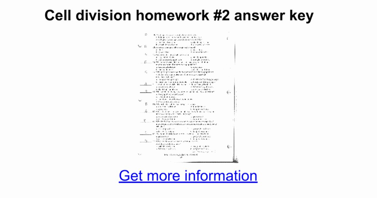 Cell Division Worksheet Answers Best Of Meiosis Review Worksheet