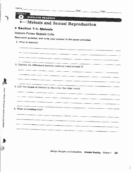Cell Reproduction Worksheet Answers Elegant Meiosis and Ual Reproduction Worksheet for 8th 12th