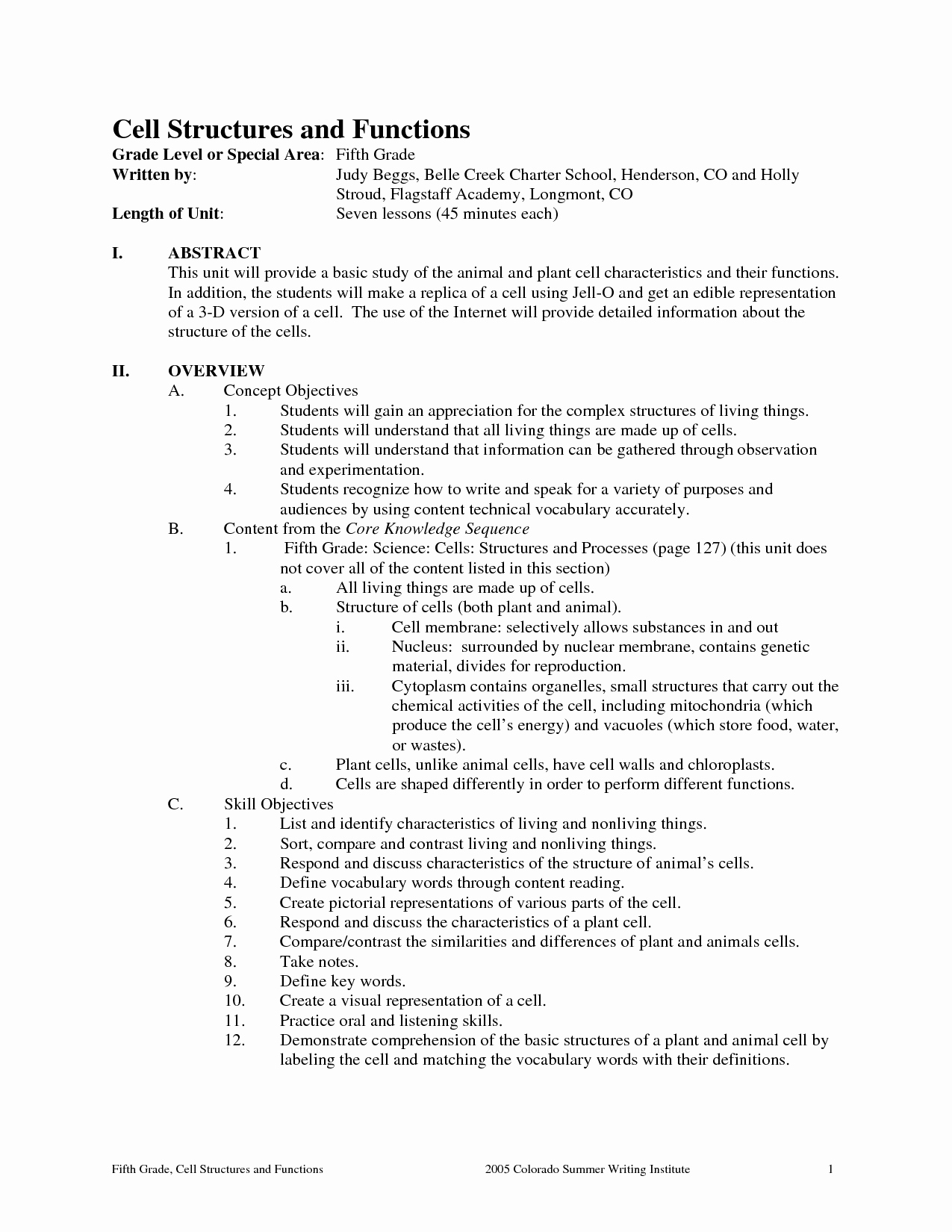 post plant structure and function worksheet