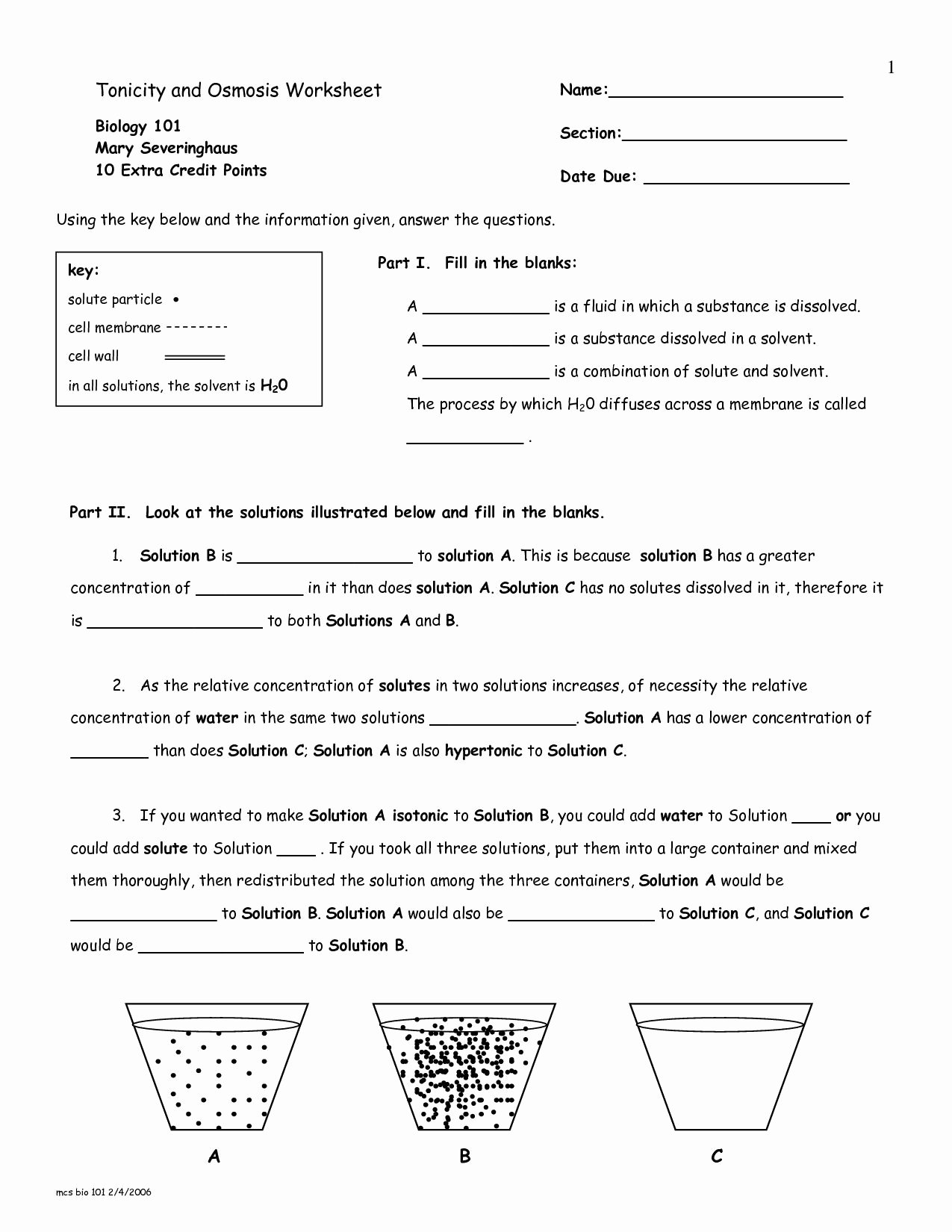 Cellular Transport Worksheet Answers Lovely Cellular Transport Worksheet Section A Cell Membrane
