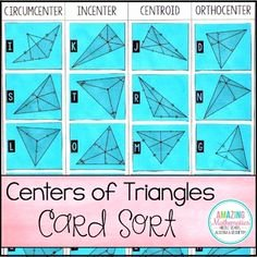 Centers Of Triangles Worksheet Awesome A Worksheet On Powerpoint with Answers On the Following