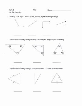 Centers Of Triangles Worksheet Awesome Classifying Triangles Worksheet 2 by Lesson Universe