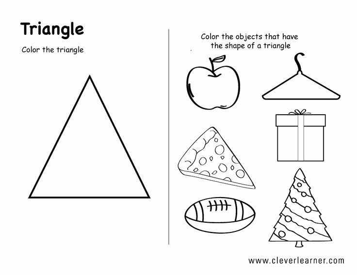 Centers Of Triangles Worksheet Awesome Image Result for Shape Triangle Worksheets for toddlers