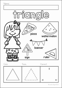 Centers Of Triangles Worksheet Awesome Shapes No Prep Worksheets by Lavinia Pop