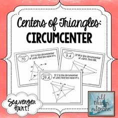 Centers Of Triangles Worksheet Best Of Pinterest • the World's Catalog Of Ideas