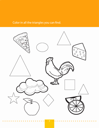 Centers Of Triangles Worksheet Fresh Find & Color Triangles Aryan S Place