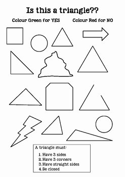 Centers Of Triangles Worksheet New is This A Triangle Worksheet 2d Shapes by Bright buttons