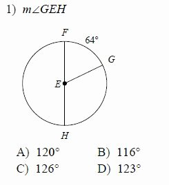 Central and Inscribed Angle Worksheet Inspirational Circles Measures Of Arcs and Central Angles Worksheets