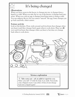 Change In Matter Worksheet Luxury 17 Best Images About Science Particle theory On