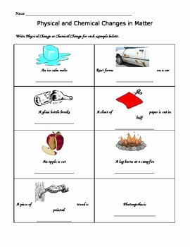 Changes In Matter Worksheet Beautiful Changes In Matter by Lisa Hyatt