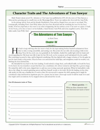 Character Traits Worksheet 3rd Grade Beautiful Character Traits Worksheets
